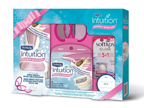 Schick Intuition Advanced Moisture Holiday Gift Pack