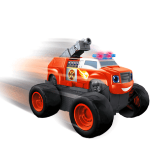 Blaze and the Monster Machines Transforming Firetruck
