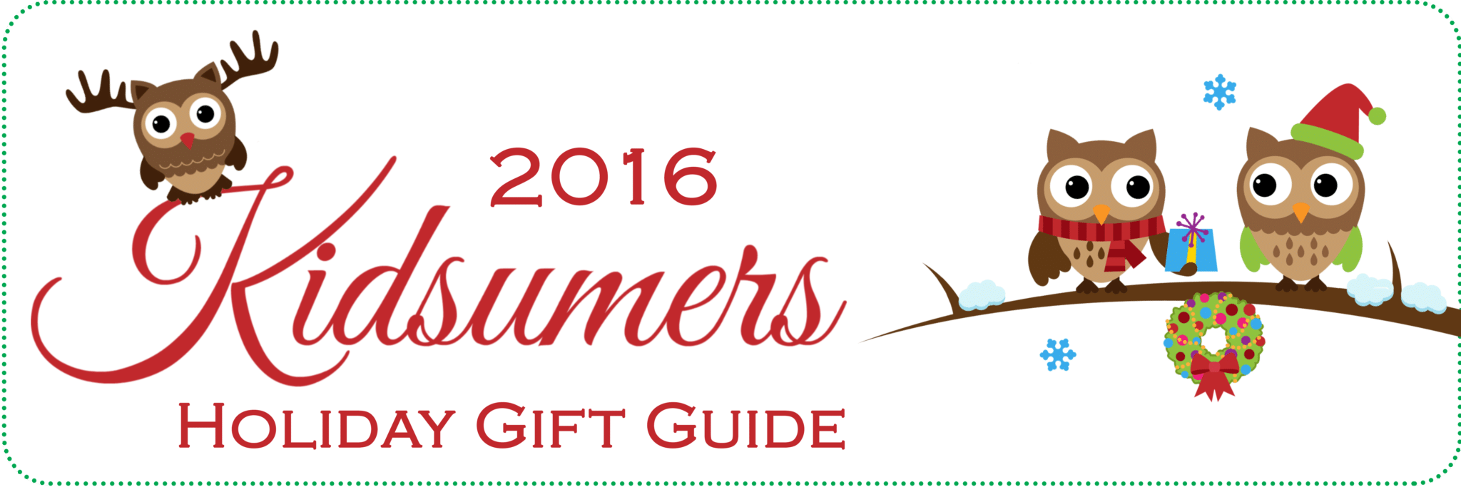 Kidsumers Holiday Gift Guide