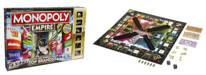 Win a Monopoly Empire Boardgame