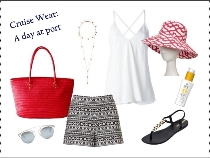 What to Pack: Cruise Wear for Women on a Day at Port