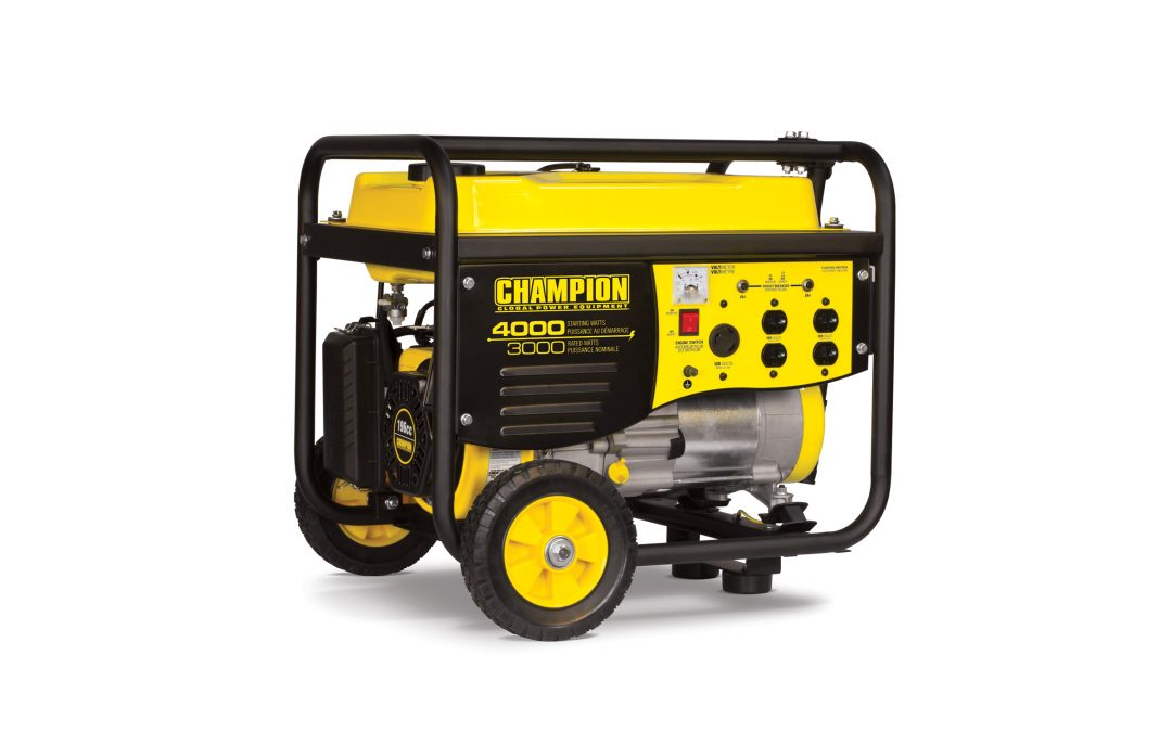 Manage Power Outages with a Champion Generator {giveaway}