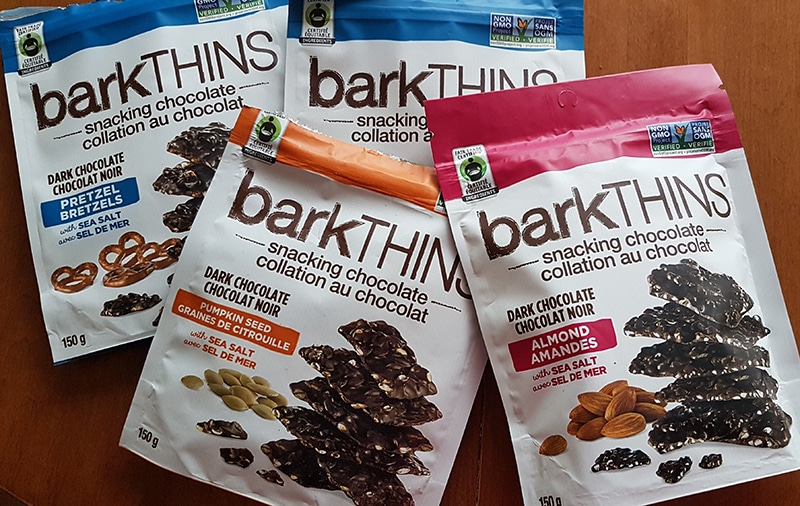 When the sweet cravings hit, I reach for barkTHINS #betterwithbarkthins #snackingelevated