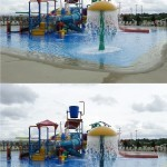 Find the Differences: A Day at the Waterpark