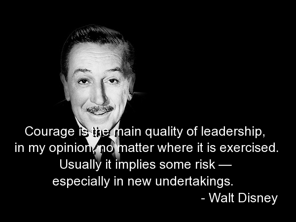 courage and leadership