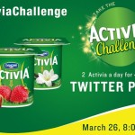 Join the #ActiviaChallenge Twitter Party March 26th 8pm EDT