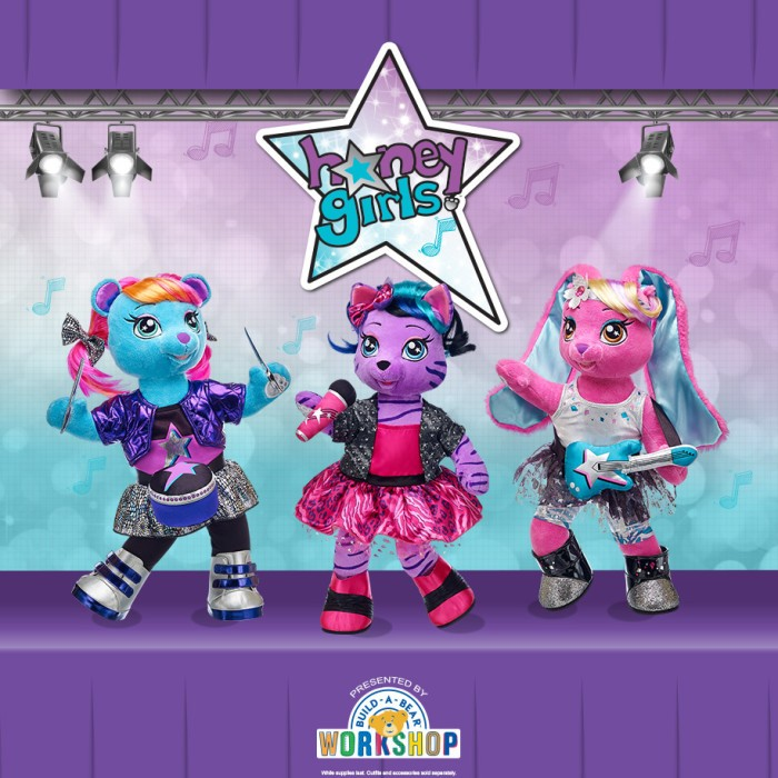 The Build-A-Bear Honey Girls have arrived!