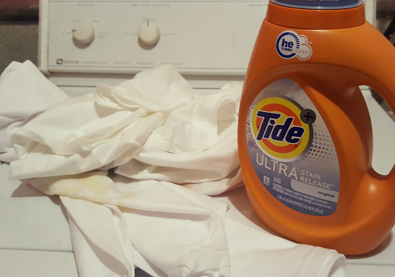 Tide Ultra Stain Release vs. the Teenager